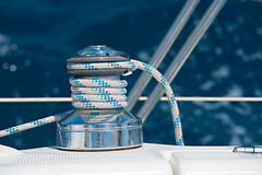 Yachting detail Stock Photography