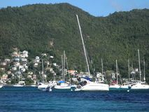 A yachting disaster in the windward islands stock video footage