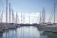 Yachting in Greece Royalty Free Stock Image