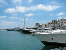 Yachting marina Royalty Free Stock Photo