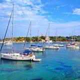 Yachting paradise Stock Photos