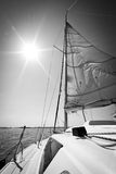 Yachting in Poland Stock Image