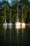 Yachting in Poland Royalty Free Stock Images