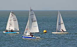 Yachting regatta race Royalty Free Stock Image