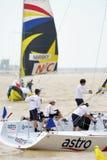 Yachting Rennen Stockbilder