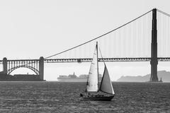 Yachting in San Francisco Royalty Free Stock Image