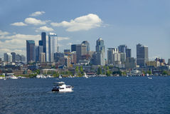 Yachting in Seattle Royalty Free Stock Photos