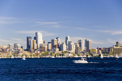 Yachting in Seattle Royalty Free Stock Images