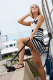 Yachting sporting Stock Image