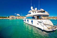Yachting in tourist destination of Primosten Royalty Free Stock Photos