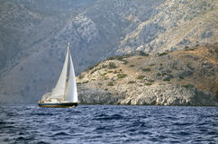 Yachting in Turkey Royalty Free Stock Photos