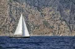 Yachting in Turkey Royalty Free Stock Image