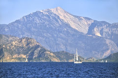 Yachting in Turkey Stock Images