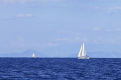 Yachting in Turkey Stock Photography
