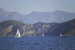 Yachting in Turkey Royalty Free Stock Photography