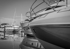 Yachtjachthafen Stockfotos