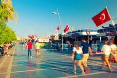 Yachtjachthafen in Marmaris Lizenzfreie Stockfotografie