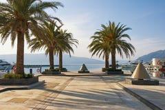 Yachtjachthafen Porto Montenegro Tivat-Stadt, Montenegro Lizenzfreie Stockfotografie