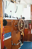 Yachtkabin Arkivbild