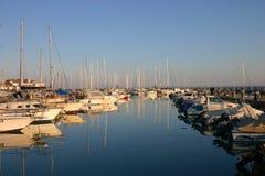 Yachtkanal Stockbild