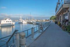 Yachtklubba i San Diego Arkivbild