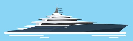 Yachtklubba och seglingsport lopp för hav för rött rep för closeup också vektor för coreldrawillustration stock illustrationer