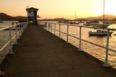 Yachtklubba Panama Arkivbild