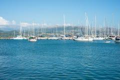 Yachtport Royaltyfri Fotografi