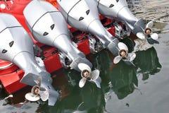 Yachtpropeller och motor Royaltyfri Bild