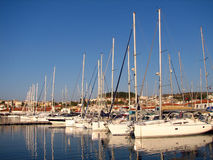 Yachts 1 Stock Photography