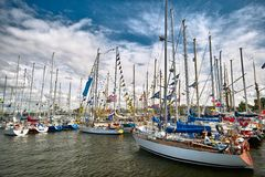 Yachts Royalty Free Stock Photos