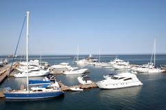 Yachts Photos libres de droits