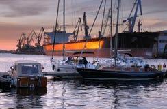 Yachts. Stock Image