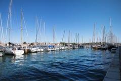Yachts Photographie stock libre de droits