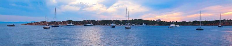 yachts photo libre de droits