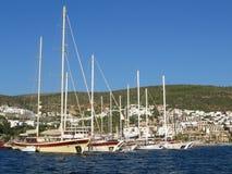 yachts Imagens de Stock