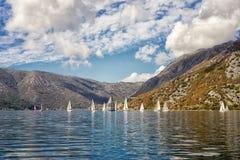 yachts fotografia stock