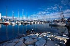 Yachts accouplés 02 Images libres de droits