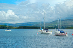 Yachts in Bantry Bay Stock Photography