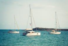 Yachts. Stock Photos