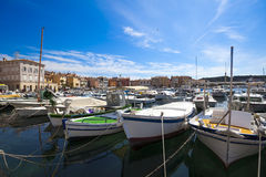 Yachts on the berth, Royalty Free Stock Photography