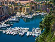 Yachts in blue sea lagoon Royalty Free Stock Photo