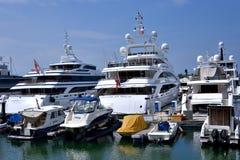 Yachts and boat, Hongkong gold coast Royalty Free Stock Photography