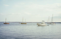 Yachts and boats. Stock Photos