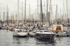 Yachts and boats. Stock Photo