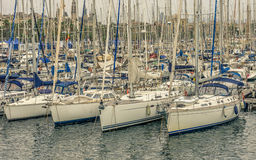 Yachts and boats. Stock Image