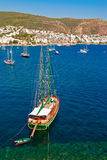 Yachts In Bodrum Stock Photography