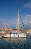 Yachts in Cesme Royalty Free Stock Image
