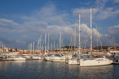 Yachts in Cesme 1 Stock Photos