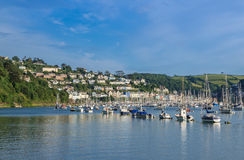 Yachts chez Kingswear Photo libre de droits
